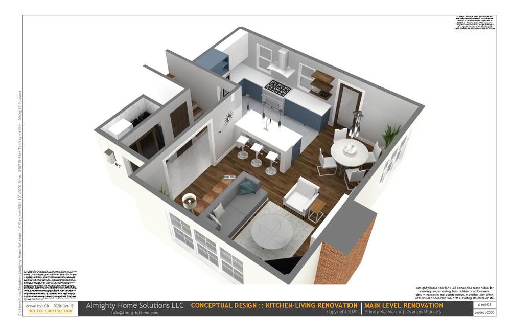 design build drawing Kit Dining IG 2 1