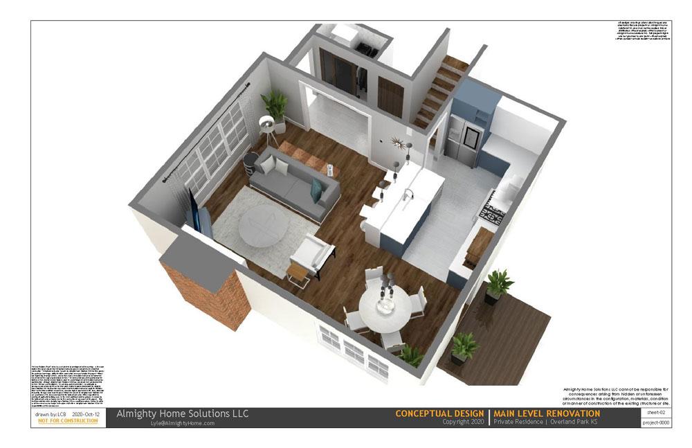 design build drawing Kit Dining IG 2 2