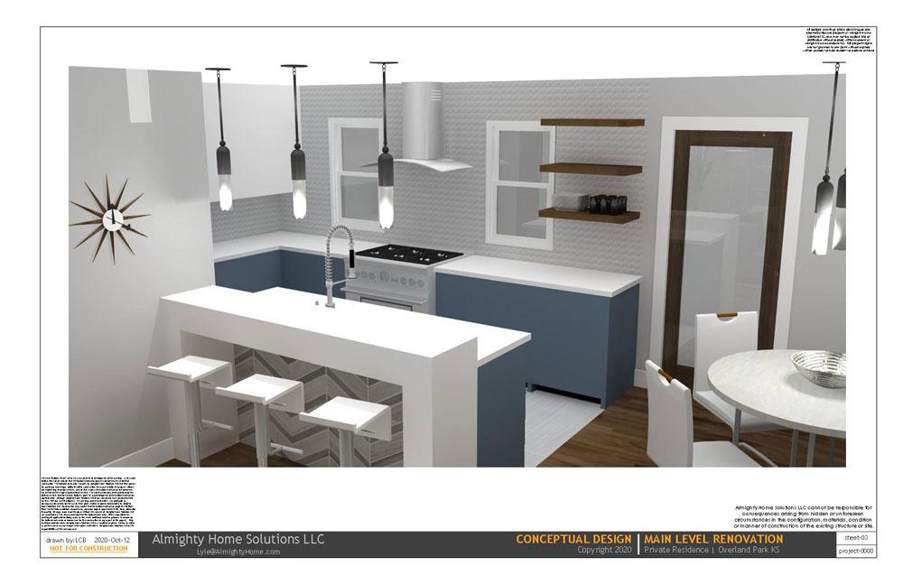design build drawing Kit Dining IG 2 3