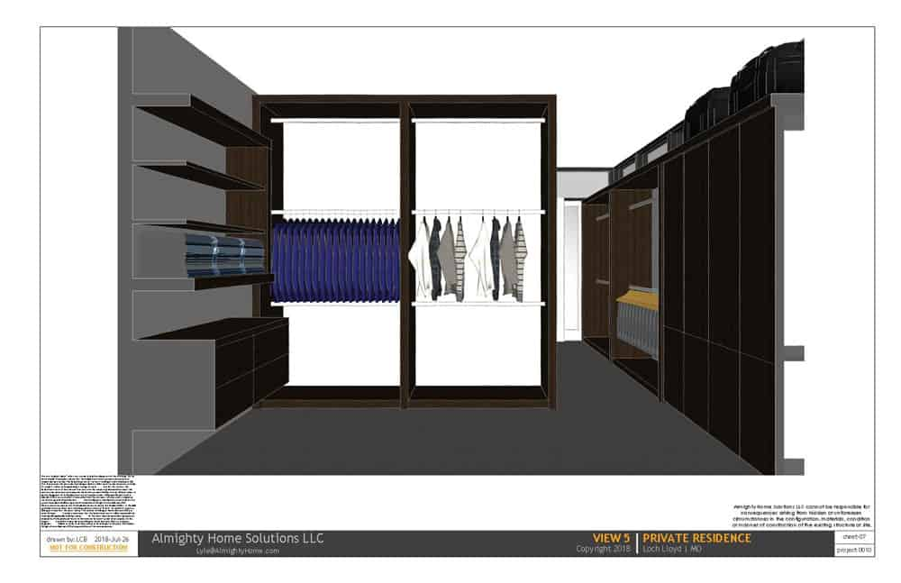 design build drawing closet 0010 On Th Boards 7
