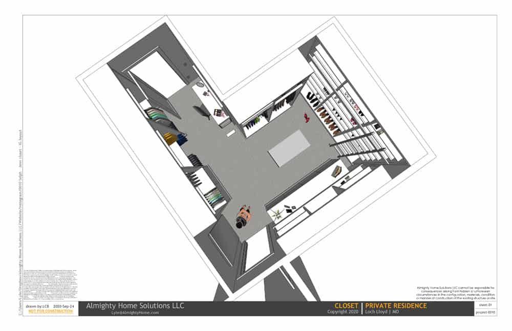 design build drawing closet 0010 Selph Jenn closet IG 01
