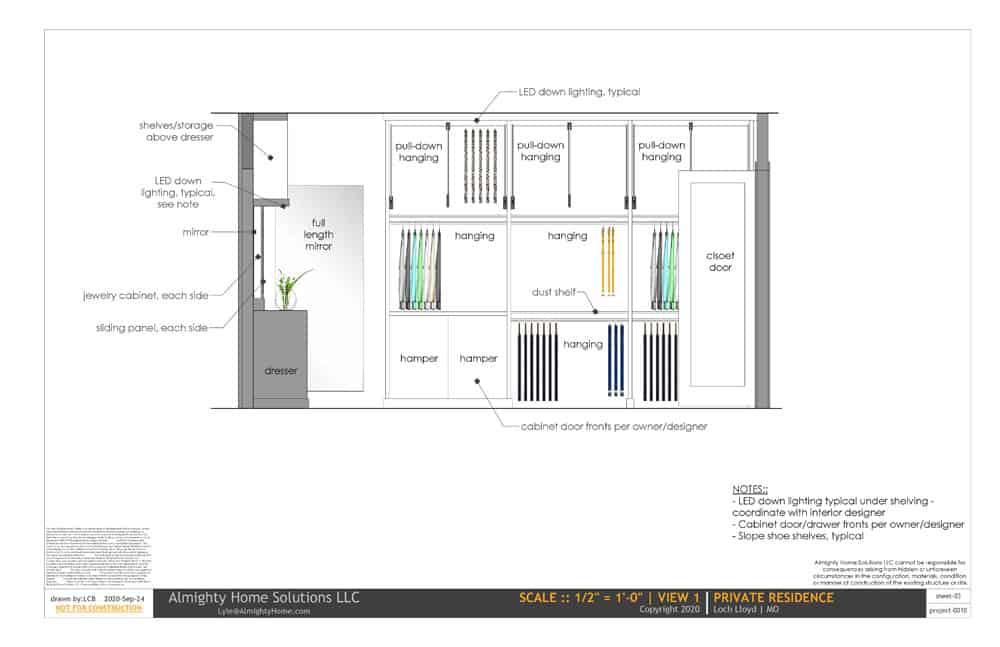 design build drawing closet 0010 Selph Jenn closet IG 03