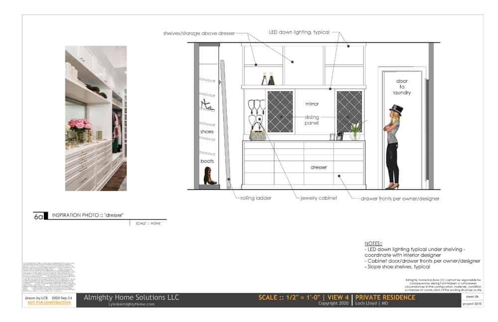 design build drawing closet 0010 Selph Jenn closet IG 06