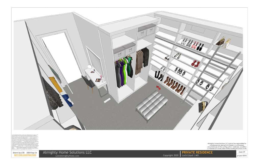 design build drawing closet 0010 Selph Jenn closet IG 07
