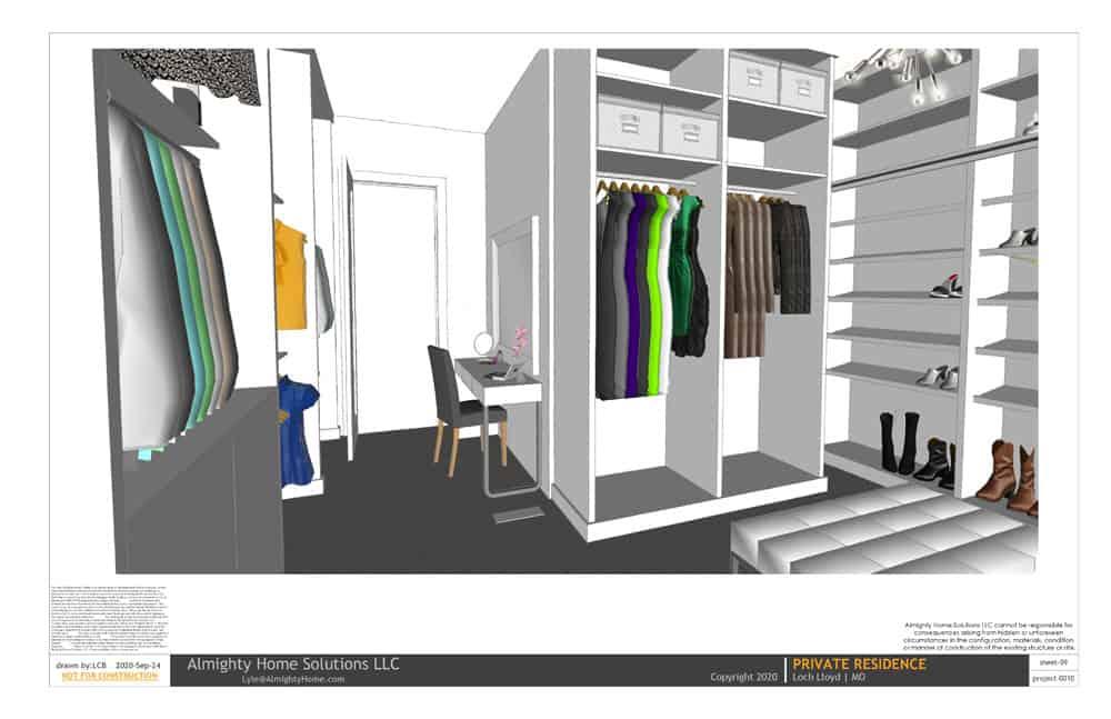 design build drawing closet 0010 Selph Jenn closet IG 09