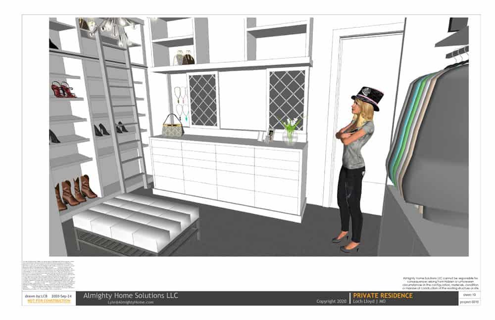 design build drawing closet 0010 Selph Jenn closet IG 10